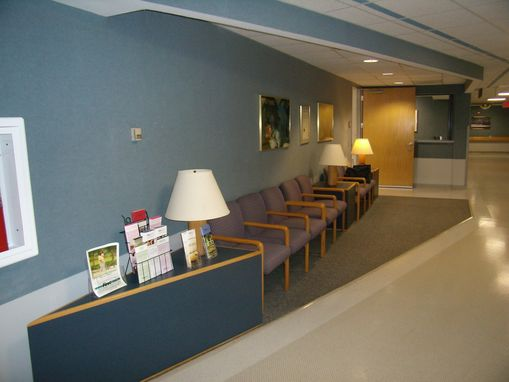 Custom Made Hospital Rehab Center - Inside Entrance