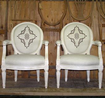 Custom Made Louis Chairs