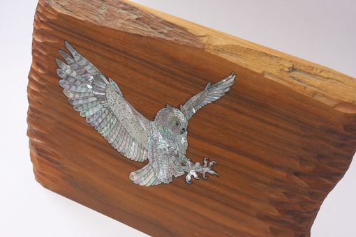 Custom Made Great Horned Owl Mantel Ornament