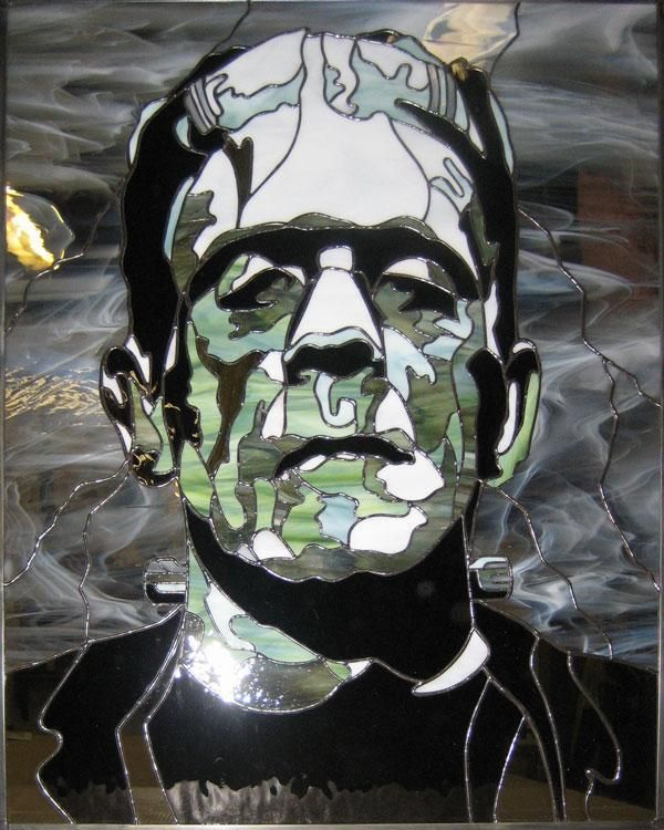 Handmade Frankenstein S Monster Stained Glass By The Glass