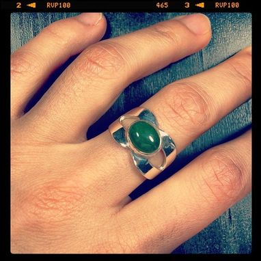 Custom Made Aventurine Ring