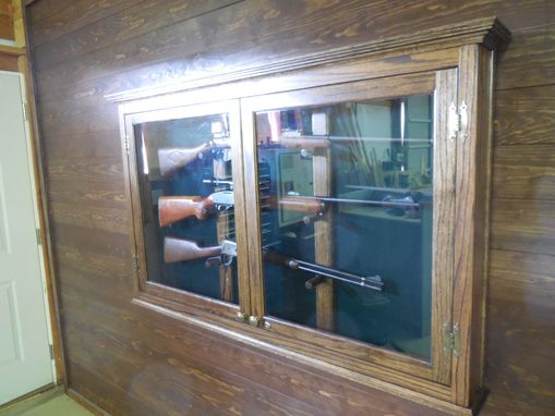 Custom Made Rifle Display Case