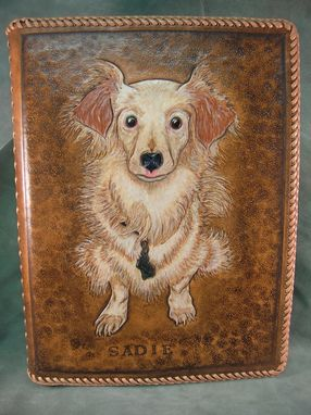 Custom Made Custom Leather Art Work