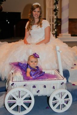 Custom Made Medium Flower Girl Pumpkin Wagon