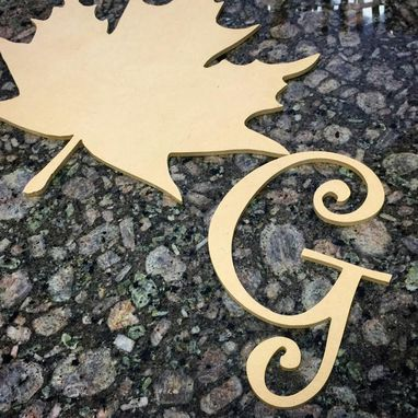 Custom Made Wood Letters And Cut Outs For Decoration