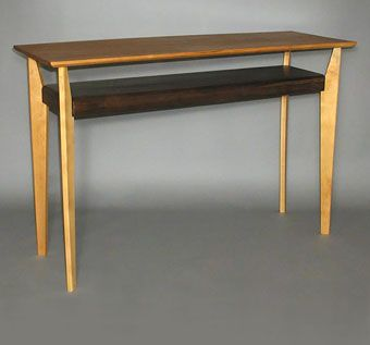 Custom Made Contemporary Console Table