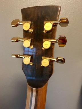 Custom Made Acoustic Guitar-Orchestra Model With Venetian Cutaway