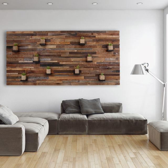 Hand Made Wood Wall Art With Floating Shelves 84 By Carpentercraig Custommade Com