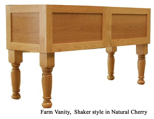 Custom Made Farmhouse Vanity