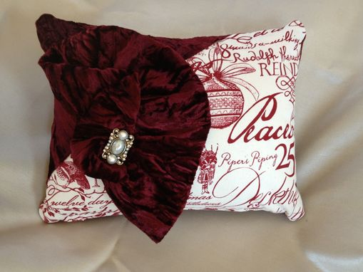 Custom Made Christmas Pillows