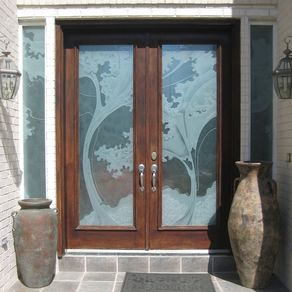 Hand Crafted Residential Front Entry Doors By Ellen Abbott