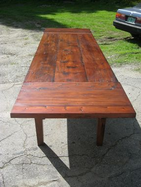 Handmade Vermont Reclaimed Lumber Farm Table By Spaulding