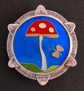 Custom Made Mushroom Necklace