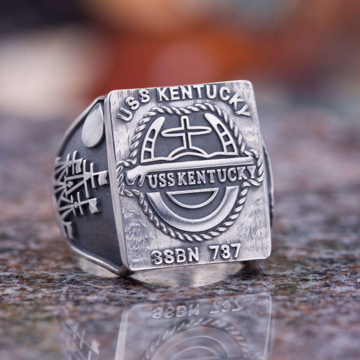 the profile pennsylvania ring class symbolism military college rings of