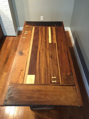 Custom Made Dining Room Table With Reclaimed Wood.