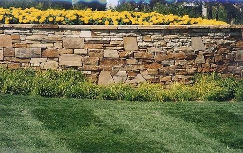 Custom Made Entrance Stone Planters