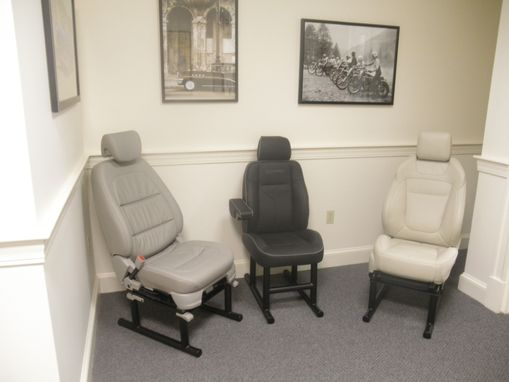Custom Made Automotive Office Chairs