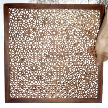 Custom Made Large Laser Cut Design