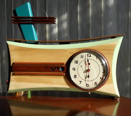 Custom Made Retro Clock 3