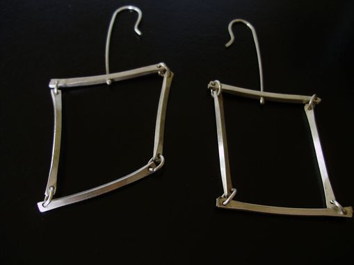 Custom Made Square Dangle Earrings