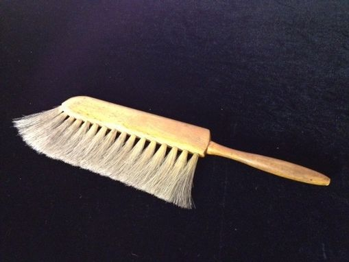 Custom Made Vintage Drafting Brush Wooden