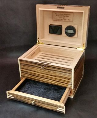 Custom Made Humidors Handcrafted In The U.S. Hd75-1