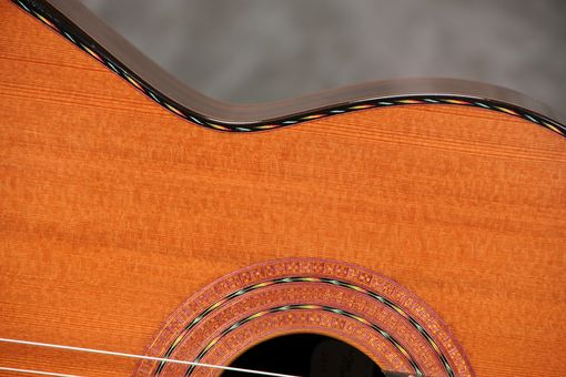 Custom Made Ergonomic Concert Classical Guitar