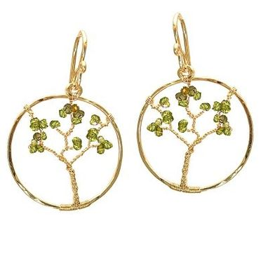 Custom Made Tree Earrings
