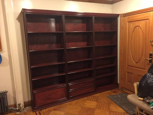 Custom Made Bookcases