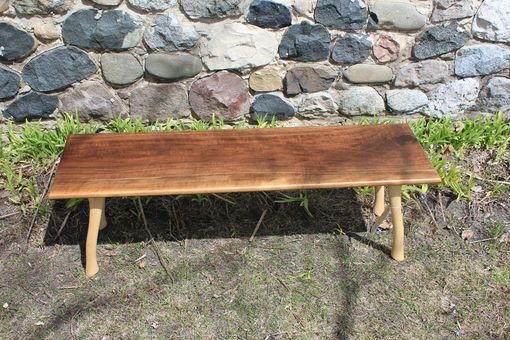 Custom Made Lumberjack Bench