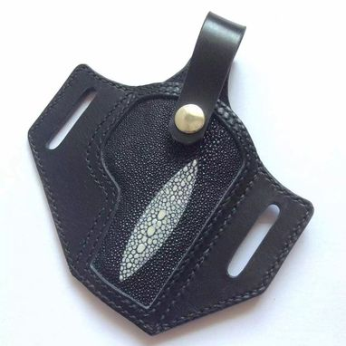Custom Made Gun Leather Gun Holster With Logo