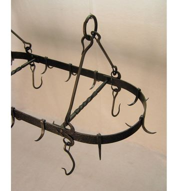 Custom Made Ranch Pot Rack