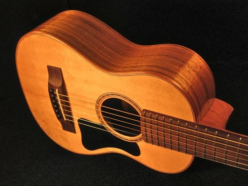 "Custom Made Small ""Alto"" Steel String Guitar"
