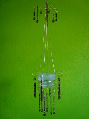 Custom Made Grandma's Simple Elegance Hanging Candle Holder
