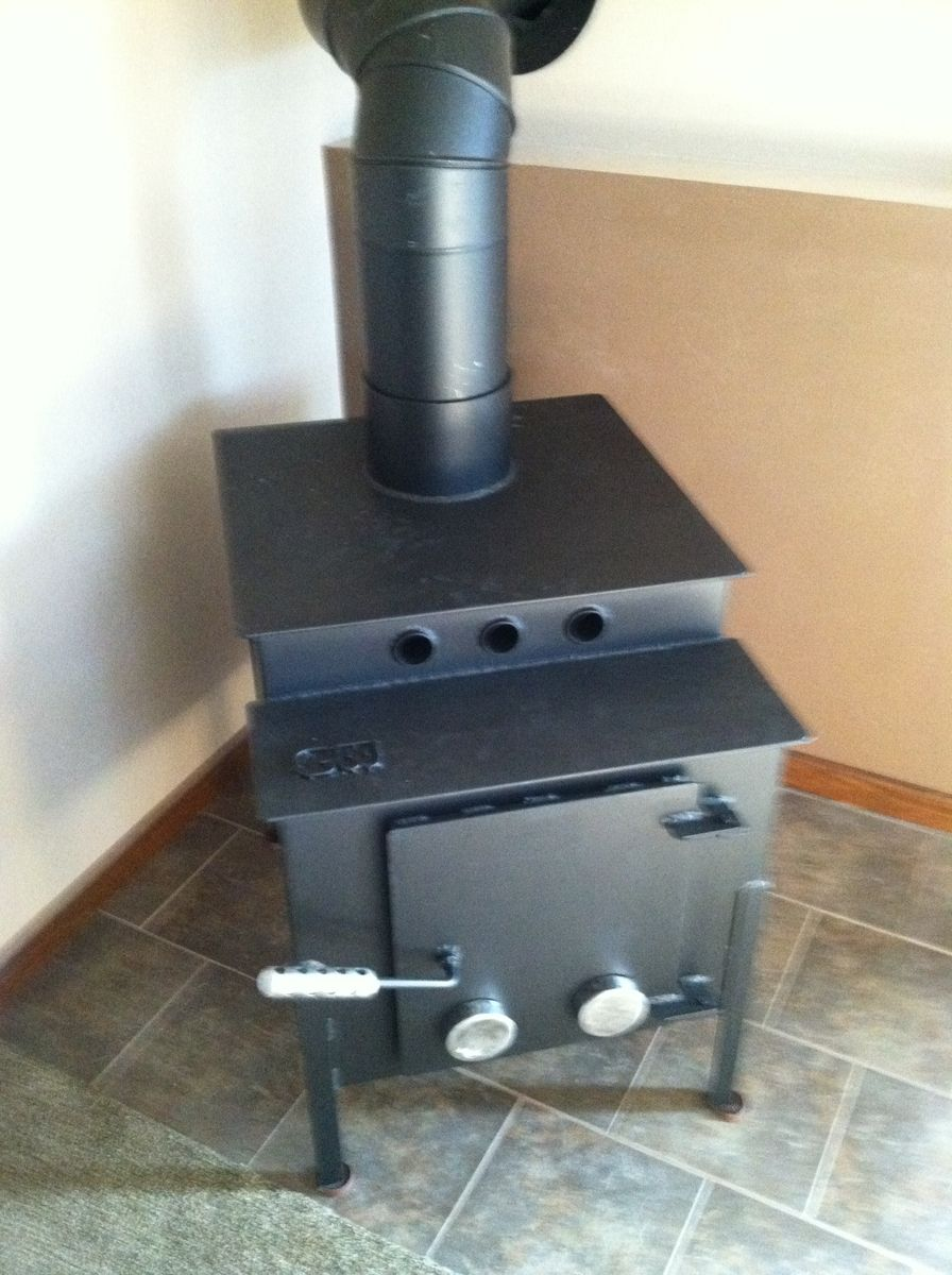Wood Stove Cement : Custom made wood stove by crossroads concrete custommade