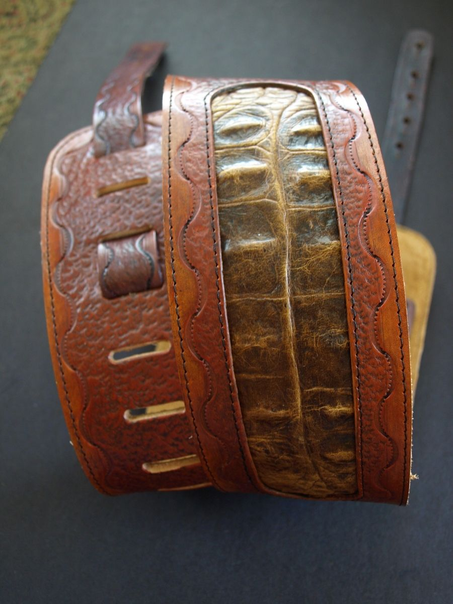 Handmade Custom Leather Guitar Strap By Dave S Hide