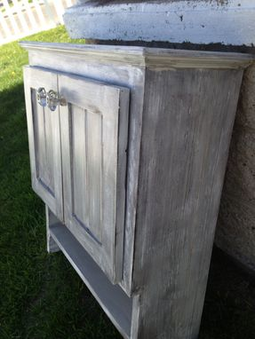 Custom Made Bathroom Vanities, Custom Made, Raw Or Endless Painted Finishes