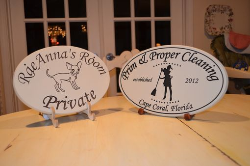 Custom Made Personalized Signs And Plaques