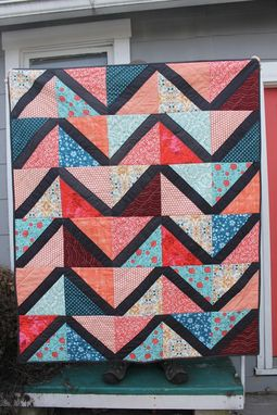 Custom Made Custom Quilt For Your Living Room