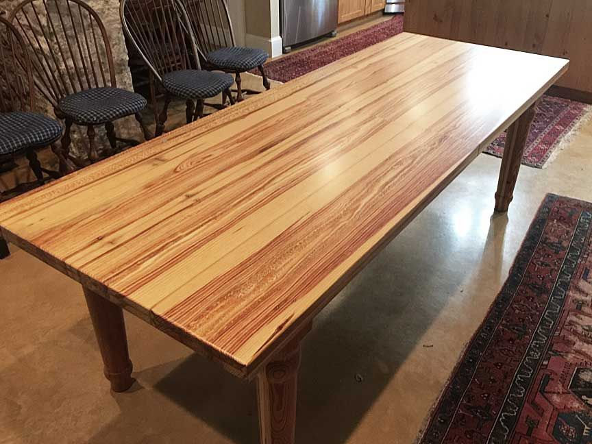 Buy a Hand Made Reclaimed Longleaf Pine Farm Extension ...