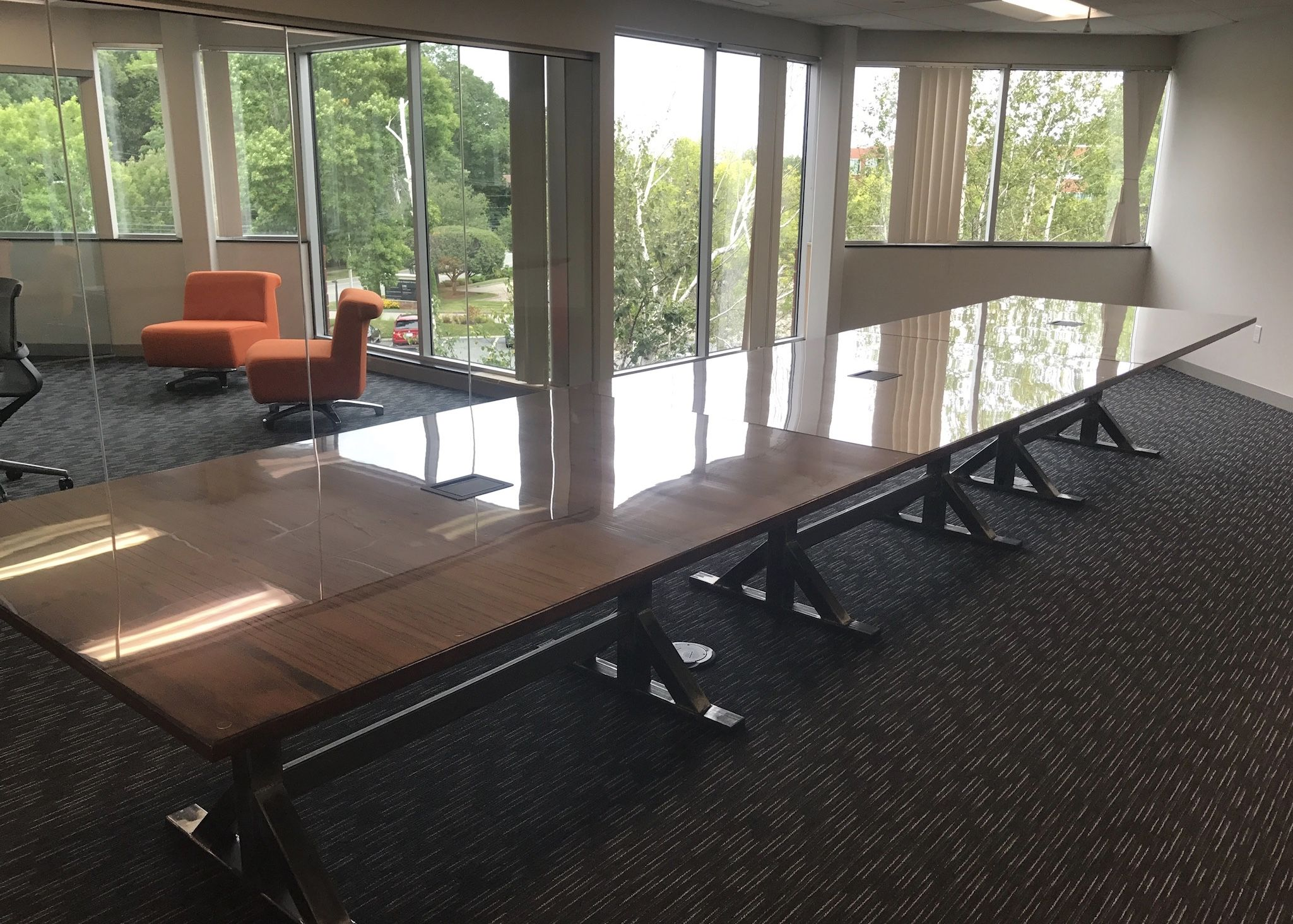 Hand Crafted Foot Long Conference Table By Maker Woodworker - 20 foot conference table