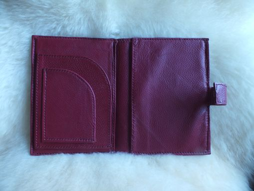 Custom Made Leather Day Planner With Picture Frame.