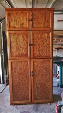 Custom Made Pantry With Doors