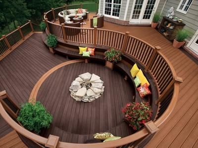 Custom Made Wooden Deck