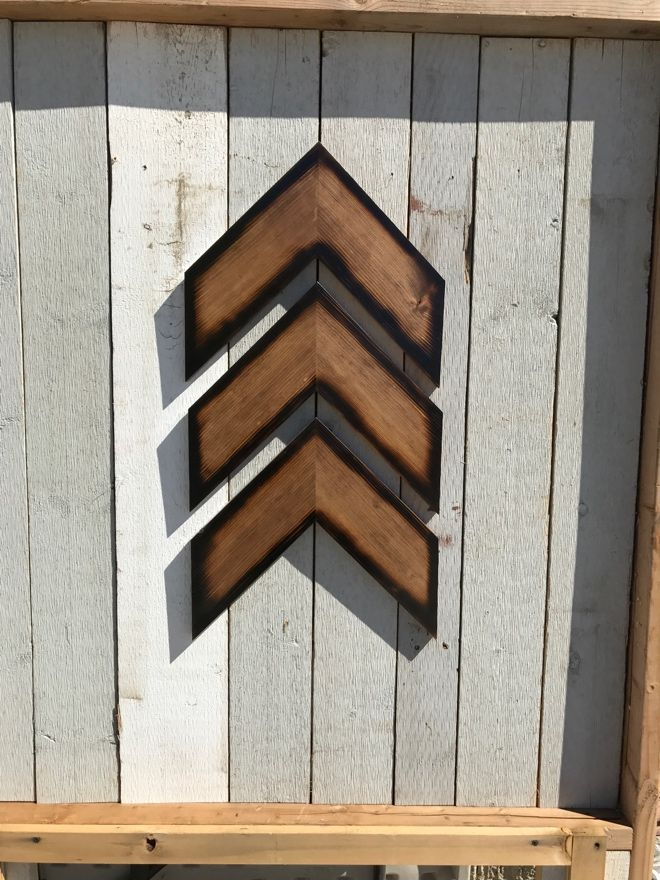 Buy A Hand Made Chevron Wood Arrows Wood Arrows Wooden
