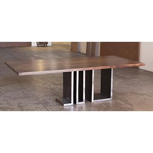 Custom Made Accordion Dining Table