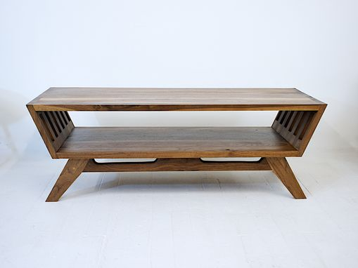 Custom Made The April: Solid Walnut Coffee Table