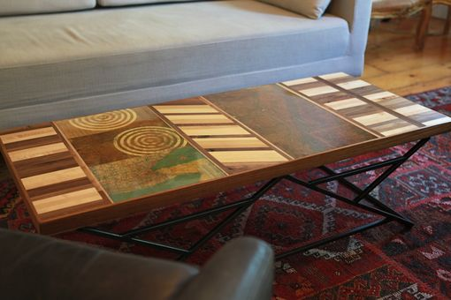 Custom Made Nyc Map Coffee Table