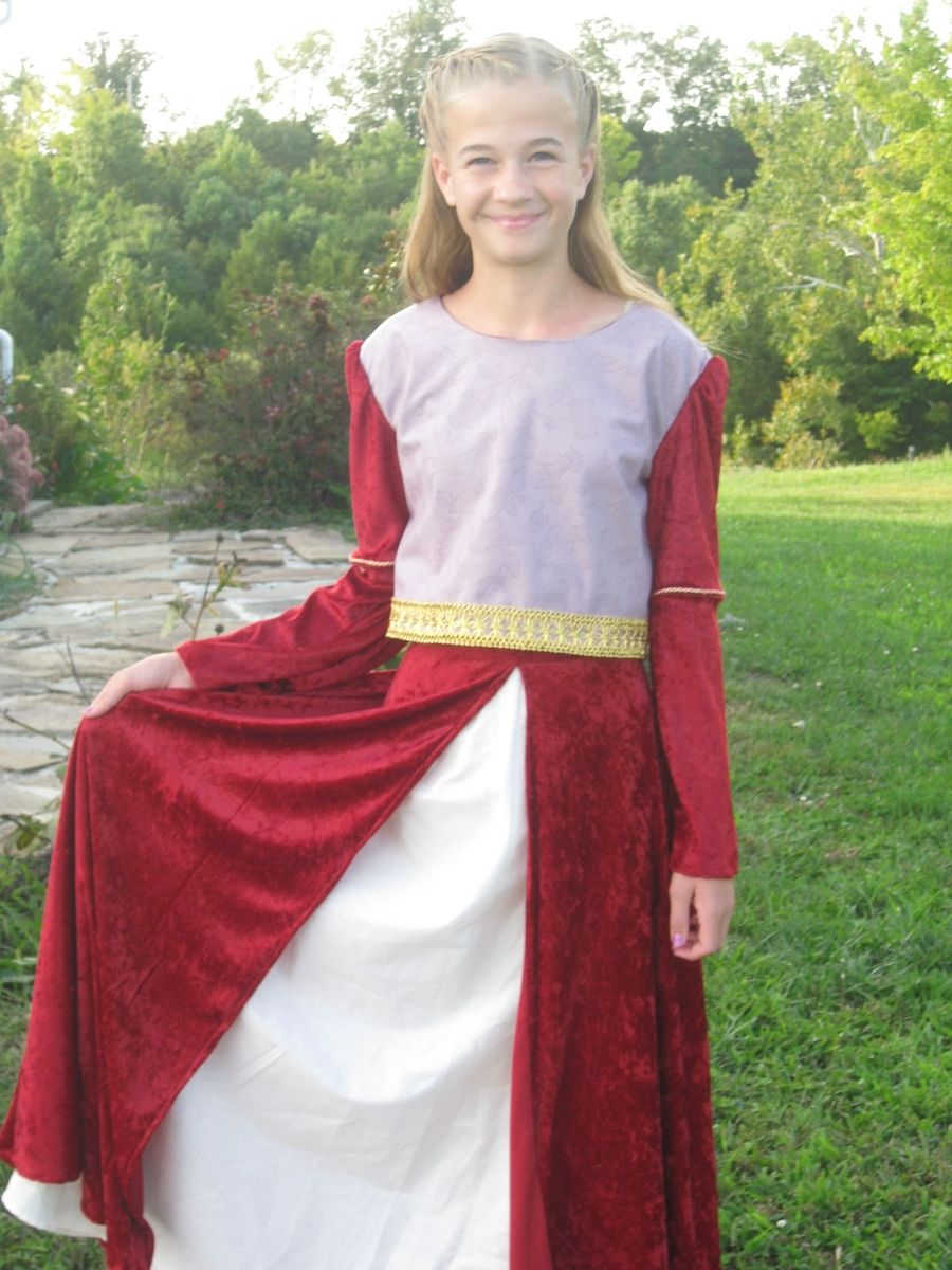 0ab0c6a73e53 Hand Crafted Lucy Costume From Prince Caspian Narnia by Made With ...