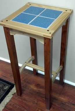 Custom Made Recycled Pallet Plant Stand-Greene & Greene Style
